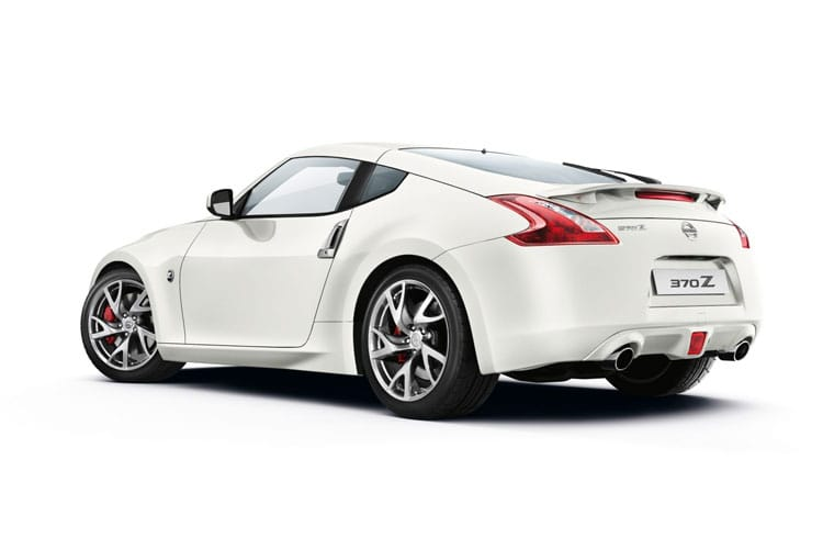 Nissan 370Z Coupe 3Dr 3.7 V6 344PS Nismo 3Dr Manual back view