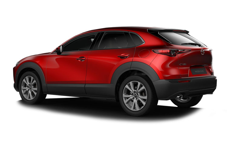 Mazda CX-30 SUV 2.0 e-SKYACTIV X MHEV 186PS GT Sport Tech 5Dr Manual [Start Stop] [Stone Leather] back view
