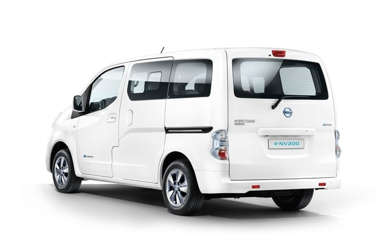 Nissan NV200 e-NV200 Combi M1 Elec 40kWh 80KW FWD 109PS Visia Combi Auto [7Seat] back view