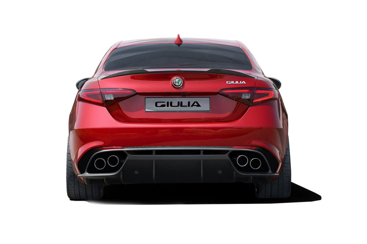 Alfa Romeo Giulia Saloon 2.2 TD 190PS Lusso Ti 4Dr Auto [Start Stop] [Driver Assistance Plus] back view
