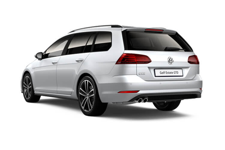 Volkswagen Golf Estate 1.5 eTSI MHEV 130PS Style 5Dr DSG [Start Stop] [Discover Nav Pro] back view