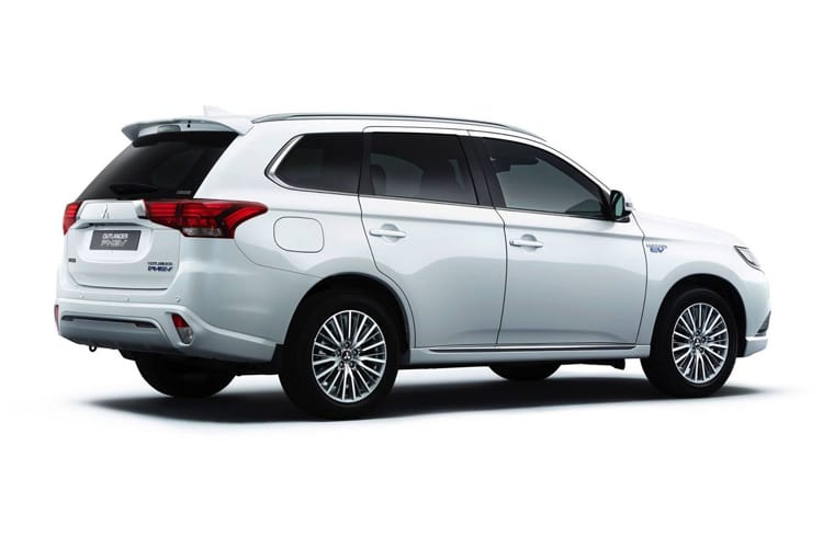 Mitsubishi Outlander PHEV SUV 2.4 h TwinMotor 13.8kWh 224PS Verve 5Dr CVT [Start Stop] back view