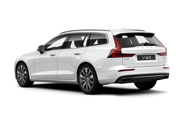 Volvo V60 Estate AWD 2.0 B6 MHEV 300PS R DESIGN 5Dr Auto [Start Stop] back view