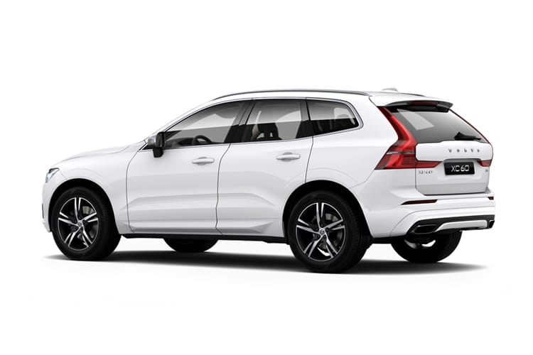 Volvo XC60 SUV AWD 2.0 B6 MHEV 300PS R DESIGN 5Dr Auto [Start Stop] back view