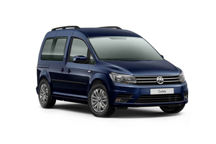 Volkswagen Caddy M1 2.0 TDI FWD 122PS  MPV DSG [Start Stop] [5Seat] front view