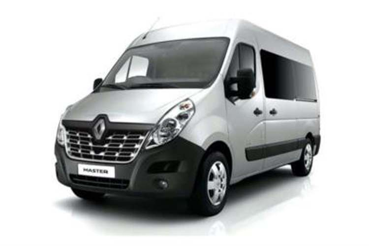 Renault Master LWBL 35TW RWD 2.3 dCi ENERGY DRW 145PS Business Window Van Medium Roof Manual [Start Stop] front view