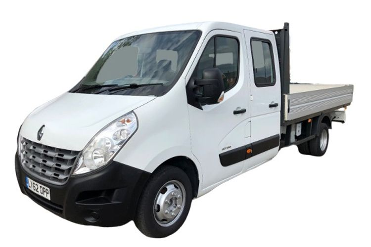 Renault Master MWBL 35TW 4X4 2.3 dCi ENERGY DR4 145PS Business Dropside Double Cab Manual [Start Stop] front view