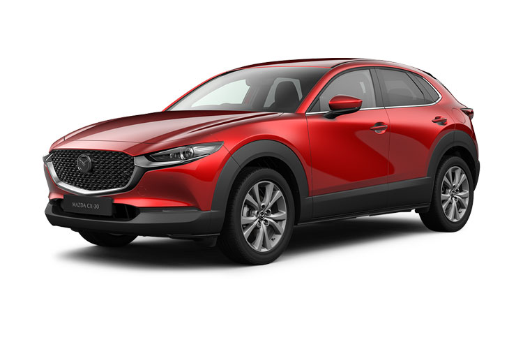 Mazda CX-30 SUV 2.0 e-SKYACTIV X MHEV 186PS GT Sport Tech 5Dr Manual [Start Stop] [Stone Leather] front view