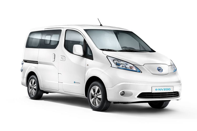Nissan NV200 e-NV200 Combi M1 Elec 40kWh 80KW FWD 109PS Visia Combi Auto [7Seat] front view