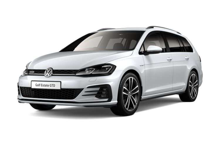 Volkswagen Golf Estate 1.5 eTSI MHEV 130PS Style 5Dr DSG [Start Stop] [Discover Nav Pro] front view