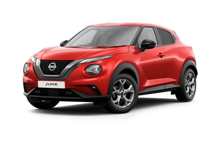 Nissan Juke SUV 1.0 DIG-T 114PS Visia 5Dr Manual [Start Stop] front view
