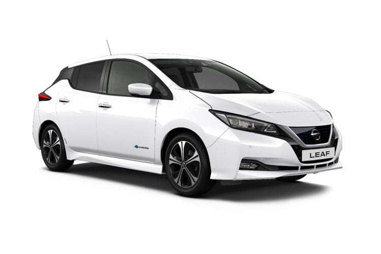 Nissan Leaf Hatch 5Dr Elec 40kWh 110KW 150PS N-Connecta 5Dr Auto front view
