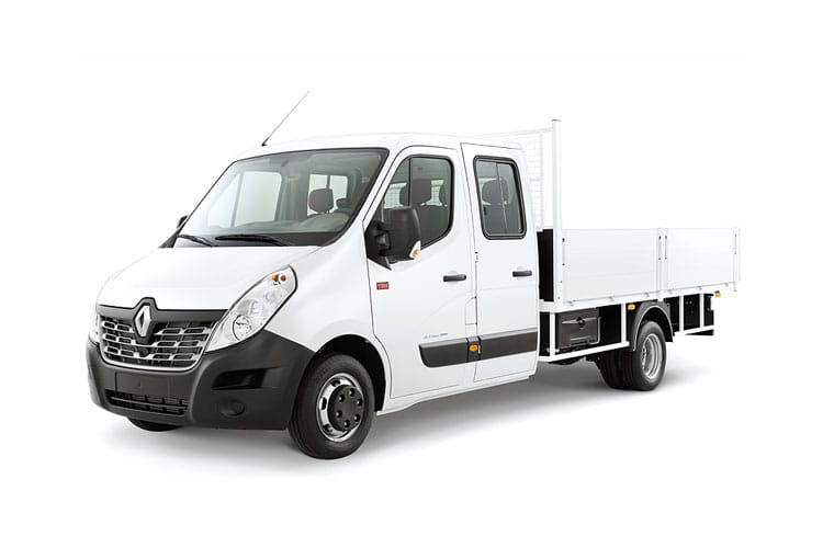 Renault Master MWBL 35TW RWD 2.3 dCi DRW 130PS Business Tipper Manual [Tool Box] front view