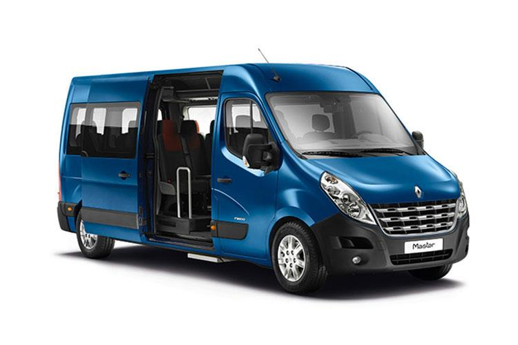Renault Master Trabus M2 MWB 39 2.3 dCi ENERGY FWD 145PS Business MiniBus Medium Roof Manual [Start Stop] front view