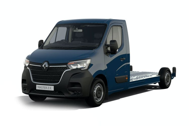 Renault Master MWB 35TW 4X4 2.3 dCi DR4 130PS Business Chassis Cab Manual front view