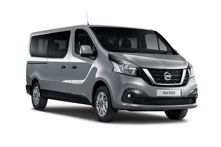 Nissan NV300 L1 30 M1 2.0 dCi FWD 120PS Tekna Combi Manual front view