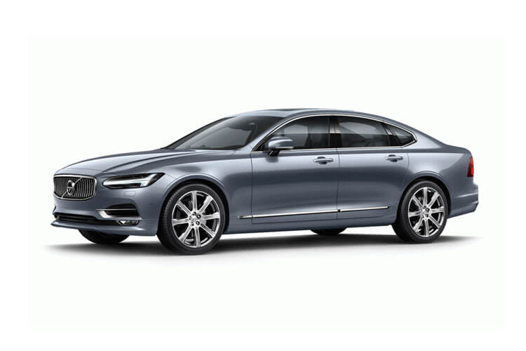 Volvo S90 Saloon AWD PiH 2.0 h T8 11.6kWh 390PS Inscription 4Dr Auto [Start Stop] front view