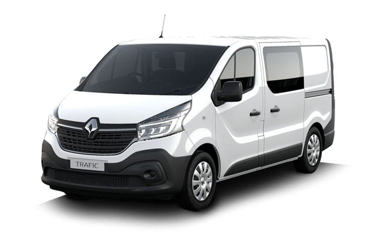 Renault Trafic 30 LWB 2.0 dCi ENERGY FWD 120PS Business Crew Van Manual [Start Stop] front view