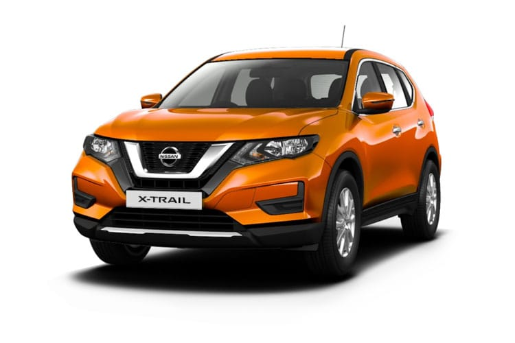 Nissan X-Trail SUV FWD 1.7 dCi 150PS N-Connecta 5Dr CVT [Start Stop] [7Seat] front view