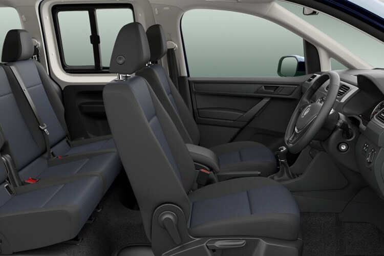 Volkswagen Caddy M1 2.0 TDI FWD 122PS  MPV DSG [Start Stop] [5Seat] inside view