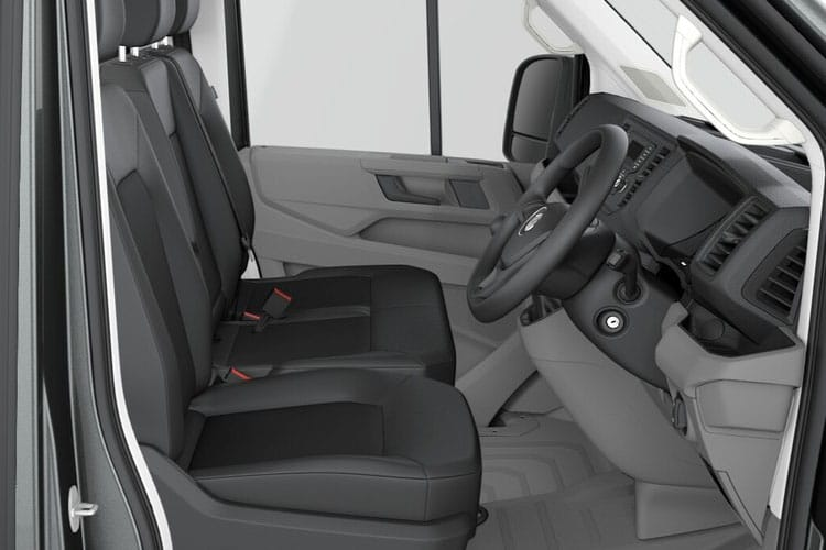 Volkswagen Crafter CR35MWB FWD 2.0 TDI FWD 140PS Startline Business Chassis Cab Auto [Start Stop] inside view