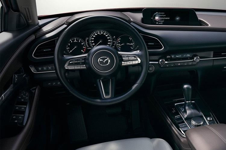 Mazda CX-30 SUV 2.0 e-SKYACTIV X MHEV 186PS GT Sport Tech 5Dr Manual [Start Stop] [Stone Leather] inside view