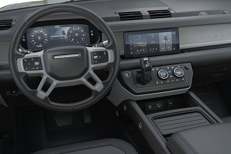 Land Rover Defender 110 SUV 5Dr 3.0 D MHEV 250PS HSE 5Dr Auto [Start Stop] [Family Pack] inside view