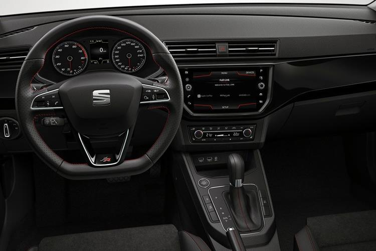 SEAT Ibiza Hatch 5Dr 1.0 TSI 110PS XCELLENCE 5Dr DSG [Start Stop] inside view