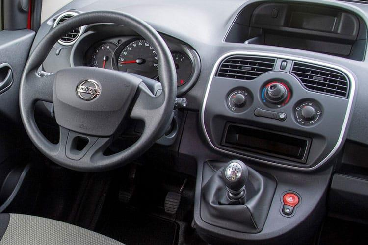 Nissan NV250 L1 1.5 dCi FWD 95PS Acenta Van Manual [Start Stop] inside view