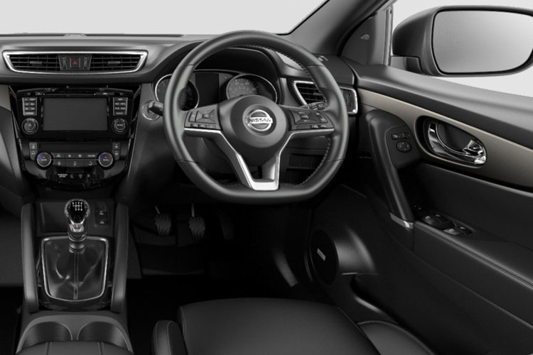 Nissan Qashqai SUV 2wd 1.5 dCi 115PS Visia 5Dr Manual [Start Stop] inside view