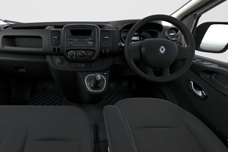 Renault Trafic 29 SWB 1.6 dCi FWD 95PS Business Van Manual inside view