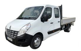 Renault Master Dropside Double Cab LWB 35 4X4 2.3 dCi ENERGY 4WD 145PS Business Dropside Double Cab Manual [Start Stop]