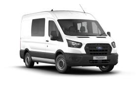 Ford Transit Crew Van 350 L2 2.0 EcoBlue FWD 130PS Leader Crew Van High Roof Manual [Start Stop] [DCiV]